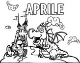 Dibujo de Aprile