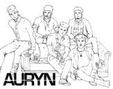 Disegno di Auryn Boyband da colorare