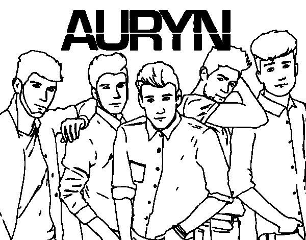 Disegno di Auryn da Colorare