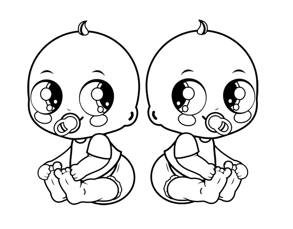 baby images coloring pages - photo#39