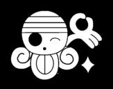 Disegno di Bandiera di Nami da colorare