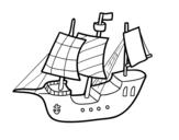 Disegno di Barca giocattolo da colorare