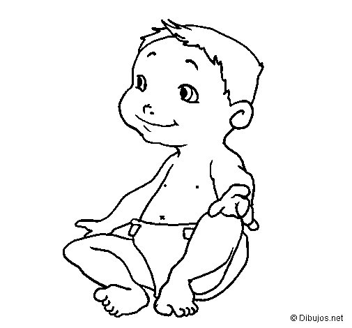 Disegno di Bebè III da Colorare