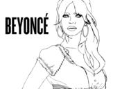 Disegno di Beyoncé B-Day da colorare