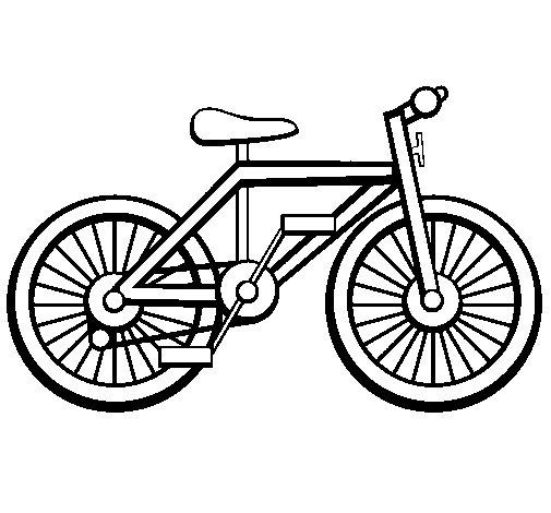 Famoso Disegno di Bicicletta da Colorare - Acolore.com JJ99