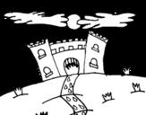 Disegno di Castello maligno da colorare