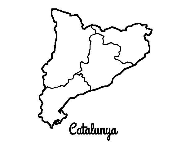 Disegno di Catalogna da Colorare