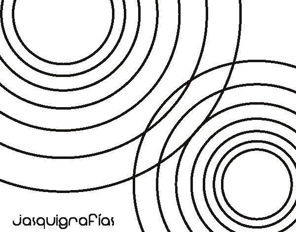 Disegno di Circles insieme da Colorare
