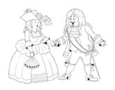 Dibujo de Conte i contessa