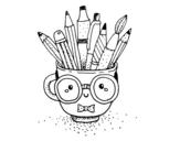 Disegno di Copo animado com lápis da colorare