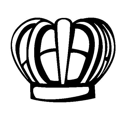Disegno di Corona da Colorare