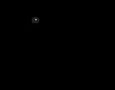 Dibujo de Cucciolo di formichiere
