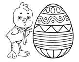 Disegno di Disegno di Pasqua da colorare