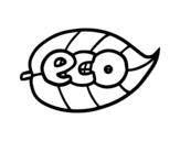 Disegno di ECO da colorare