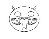 Dibujo de Faccia del diavolo