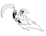 Disegno di Fantasma morto da colorare