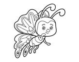 Dibujo de Farfalla civettuola