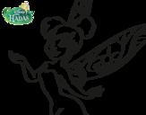 Dibujo de Fata Disney - Trilli primo piano