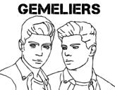 Disegno di Gemeliers - Mil y una noches da colorare