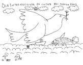 Dibujo de Simbolo della pace