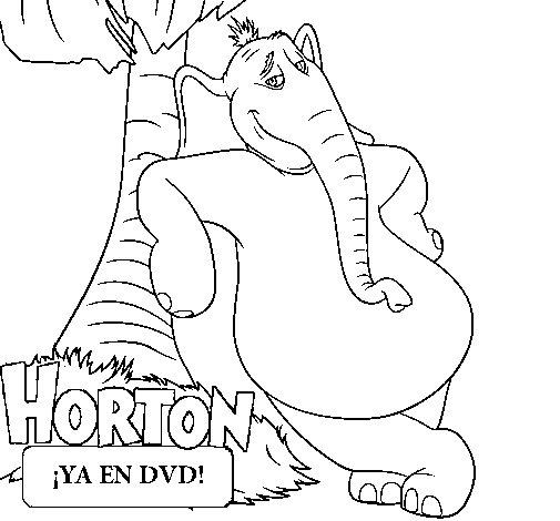 Disegno di Horton da Colorare