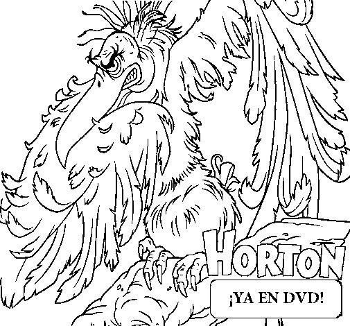 Disegno di Horton - Vlad da Colorare