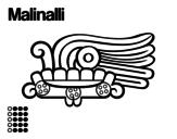 Disegno di I giorni Aztechi: erba Malinalli da colorare
