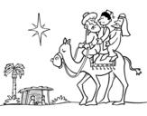 Dibujo de I tre Re Magi