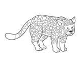 Disegno di Il ghepardo da colorare