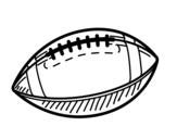 Disegno di La palla da baseball da colorare