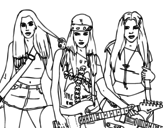 Disegno di Las Sweet California! da colorare
