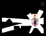 Disegno di Maglia dei mondiali di calcio 2014 del Giappone da colorare