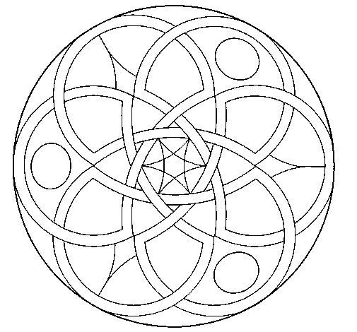 Disegno di Mandala 11 da Colorare