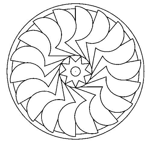 Disegno di Mandala 27 da Colorare