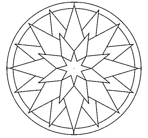Disegno di Mandala 28 da Colorare