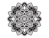 Disegno di Mandala decorative da colorare