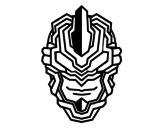 Dibujo de Maschera robot