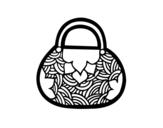 Disegno di Mini sacchetto ispirato giapponese da colorare