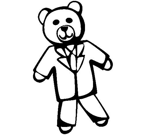 Disegno di orsacchiotto ii da colorare - Orsacchiotto da colorare in ...