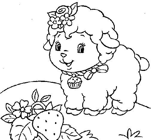 Disegno di Pecora 4 da Colorare
