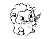 Dibujo de Pecora bambino