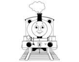 Disegno di Percy la locomotiva da colorare