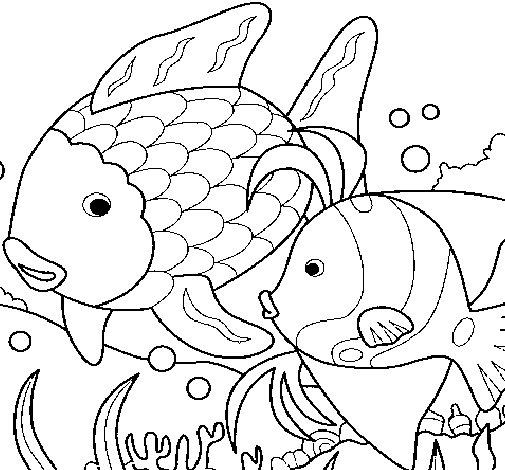 Disegno di Pesci da Colorare - Acolore.com