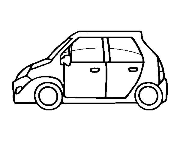 Disegno di Piccole auto da Colorare