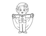 Dibujo de Piccolo vampiro