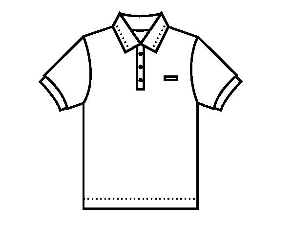Popolare Disegno di Polo da Colorare - Acolore.com XM43