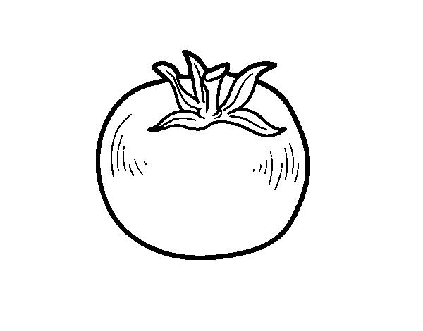 Disegno di Pomodoro ecologico da Colorare - Acolore.com