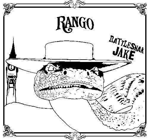 Disegno di Rattlesmar Jake da Colorare