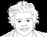 Disegno di Ritratto di Harry Styles  da colorare