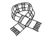 Dibujo de Scarpa di strisce